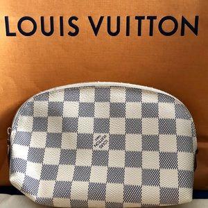 Louis Vuitton Daniel Azur Cosmetic Pouch